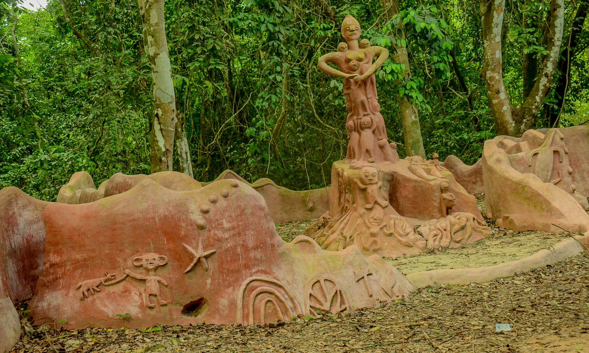 Osun's Golden Harvest Temple